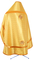 Russian Priest vestments - Simbirsk metallic brocade BG1 (yellow-gold) back, Standard design