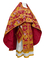 Russian Priest vestments - Paradise Garden metallic brocade BG2 (claret-gold), Premium design