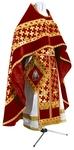 Russian Priest vestments - metallic brocade BG2 (claret-gold)