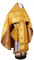 Russian Priest vestments - Rus' metallic brocade BG2 (yellow-gold), Standard design
