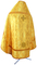 Russian Priest vestments - Small Tavriya metallic brocade BG2 (yellow-gold) back, Standard design
