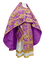 Russian Priest vestments - Paradise Garden metallic brocade BG2 (violet-gold), Premium design