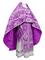 Russian Priest vestments - Paradise Garden metallic brocade BG2 (violet-silver), Premium design
