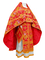 Russian Priest vestments - Paradise Garden metallic brocade BG2 (red-gold), Premium design