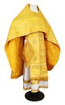Russian Priest vestments - metallic brocade BG3 (yellow-gold)