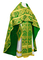 Russian Priest vestments - Eleon Bouquet metallic brocade BG4 (green-gold), Premium design