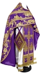 Russian Priest vestments - metallic brocade BG4 (violet-gold)