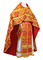 Russian Priest vestments - Eleon Bouquet metallic brocade BG4 (red-gold), Premium design