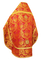 Russian Priest vestments - Eleon Bouquet metallic brocade BG4 (red-gold) back, Premium design