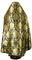 Russian Priest vestments - Eleon Bouquet metallic brocade BG5 (black-gold) back, Luxury design