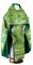 Russian Priest vestments - Eleon Bouquet metallic brocade BG5 (green-gold), Luxury design