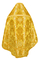 Russian Priest vestments - metallic brocade BG6 (yellow-gold) variant 3 back, Luxury design