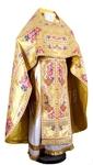Russian Priest vestments - metallic brocade BG6 (yellow-gold)