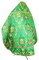 Russian Priest vestments - metallic brocade BG6 (green-gold) back, Standard design