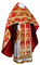 Russian Priest vestments - metallic brocade BG6 (red-gold) variant 2, Premium design