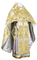 Russian Priest vestments - metallic brocade BG6 (white-gold) variant 1, Premium design