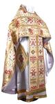 Russian Priest vestments - metallic brocade BG6 (white-gold)