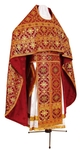 Russian Priest vestments - rayon brocade S3 (claret-gold)