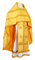 Russian Priest vestments - Simbirsk rayon brocade S3 (yellow-gold), Economy design