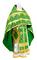 Russian Priest vestments - Polotsk rayon brocade S3 (green-gold), Econom design
