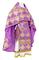 Russian Priest vestments - Kolomna rayon brocade S3 (violet-gold), Standard design