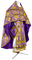 Russian Priest vestments - Vine Switch rayon brocade S3 (violet-gold), Standard design