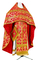 Russian Priest vestments - Korona rayon brocade S3 (red-gold), Standard design