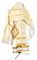 Russian Priest vestments - Polotsk rayon brocade S3 (white-gold), Premium design