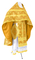 Russian Priest vestments - Pskov rayon brocade S4 (yellow-gold), Standard design