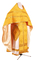 Russian Priest vestments - Don rayon brocade S4 (yellow-gold), Premium cross design