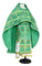 Russian Priest vestments - Thebroniya rayon brocade S4 (green-gold), Standard design