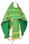 Russian Priest vestments - rayon brocade S4 (green-gold)