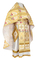 Russian Priest vestments - Karaganda rayon brocade S4 (white-gold), Standard design