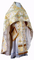 Russian Priest vestments - Pereslavl' rayon brocade S4 (white-gold), Standard design