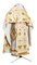 Russian Priest vestments - Rosy Vine rayon brocade S4 (white-gold), Standard design