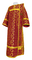 Deacon vestments - Cappadocia metallic brocade B1 (claret-gold), Economy design