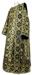 Deacon vestments - metallic brocade BG1 (black-gold)