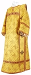 Deacon vestments - metallic brocade BG1 (yellow-gold)