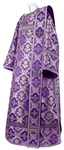 Deacon vestments - metallic brocade BG1 (violet-silver)