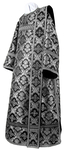 Deacon vestments - metallic brocade BG1 (black-silver)