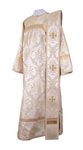 Deacon vestments - metallic brocade BG1 (white-gold)