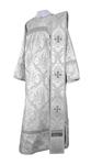 Deacon vestments - metallic brocade BG1 (white-silver)