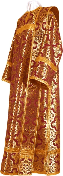 Deacon vestments - metallic brocade BG2 (claret-gold)