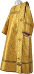 Deacon vestments - metallic brocade BG2 (yellow-gold)