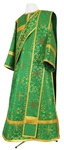 Deacon vestments - metallic brocade BG2 (green-gold)