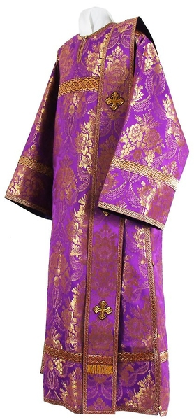 Deacon vestments - metallic brocade BG2 (violet-gold)