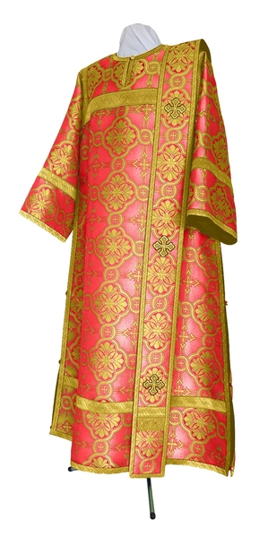 Deacon vestments - metallic brocade BG2 (red-gold)