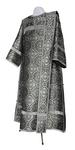 Deacon vestments - metallic brocade BG2 (black-silver)