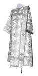 Deacon vestments - metallic brocade BG2 (white-silver)