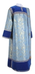 Deacon vestments - metallic brocade BG3 (blue-gold)